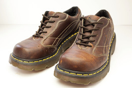 Dr Martens 8 Brown Oxfords Platform Women's Shoes EU 39 - $48.00