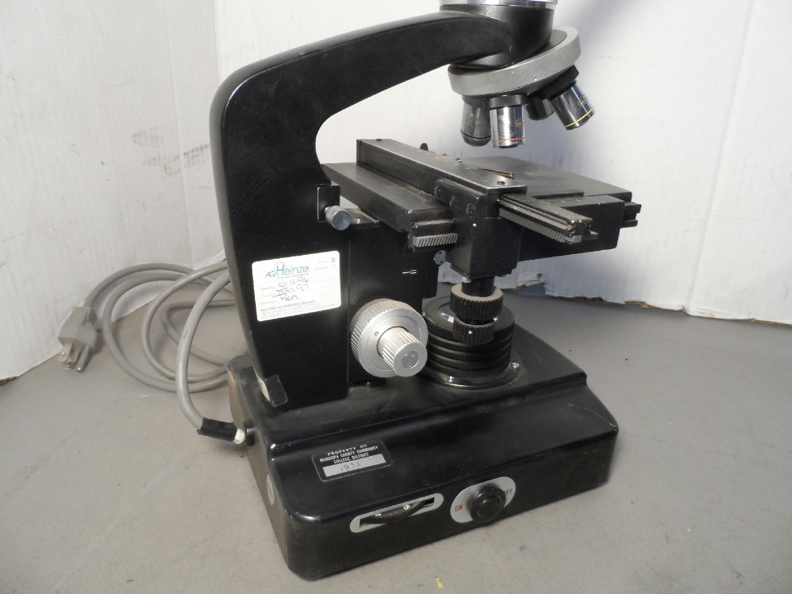 Wolfe Large Microscope Case