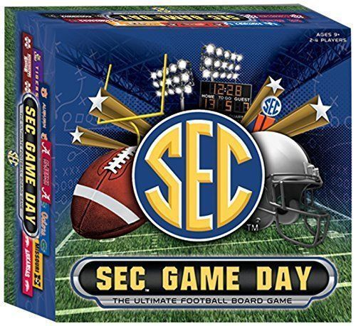 SEC Game Day: The Ultimate Football Board Game [New]