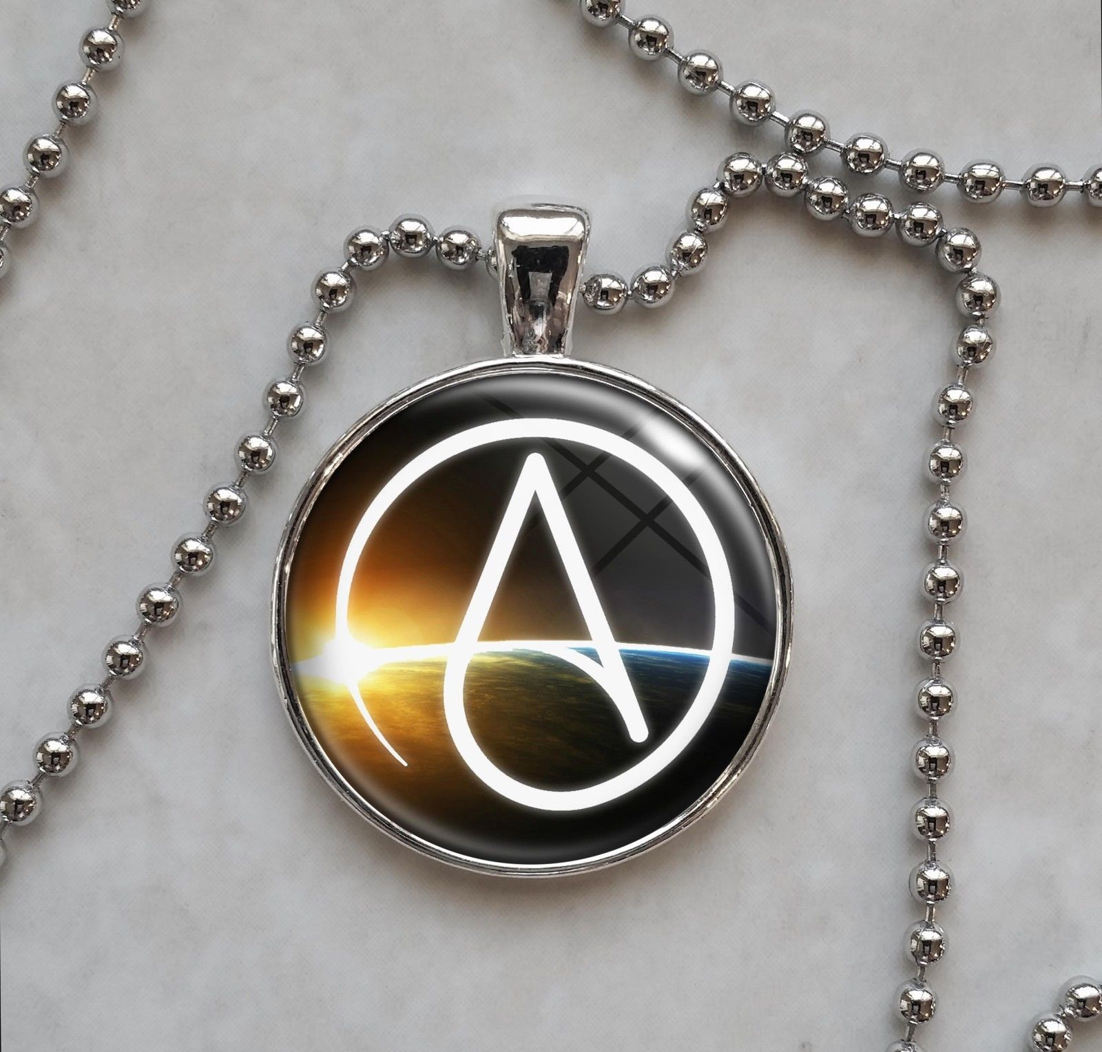 Atheist Symbol Atheism Agnostic Free Thinker And 50 Similar Items