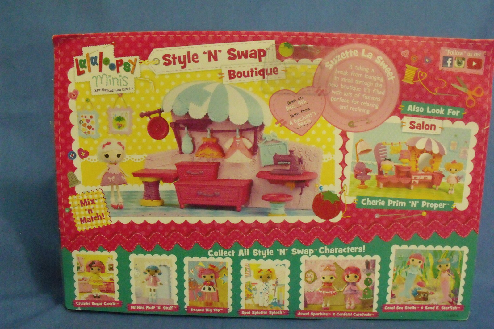 Toys Dolls New Lalaloopsy Style N Swap Boutique Suzette La Sweet 11 pc
