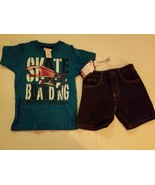 Kid Zone  Toddler Boys 2pc Short Outfit  Sizes 4T NWTSkate Boarding - $12.79