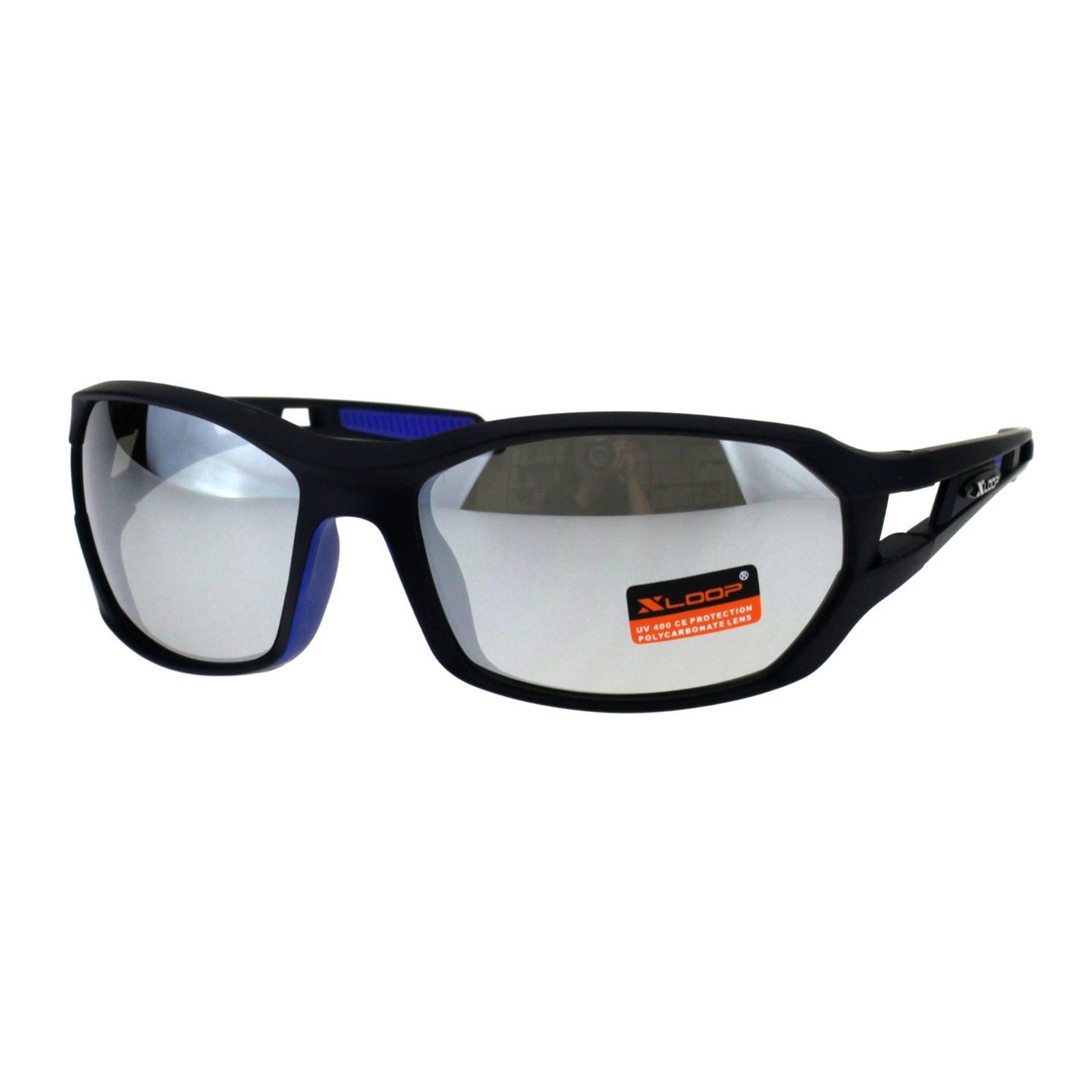 b07ff3ac8b Xloop Mens Sunglasses Matted Oval Wrap and 42 similar items. S l1600