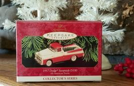 1999 Hallmark 1957 Dodge Sweptside D100 Ornament All American Trucks 5th... - $14.99