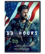13 HOURS: THE SECRET SOLDIERS OF BENGHAZI DVD - SINGLE DISC EDITION - NEW - $10.99