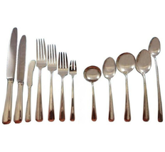 Aristocrat by Towle Sterling Silver Flatware Set 8 Service 111 pieces Dinner - $6,550.00