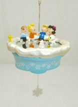 "Hallmark 2005 Peanuts Gang ""Crack the Whip!"" Charlie Brown Christmas Orn... - $18.80"