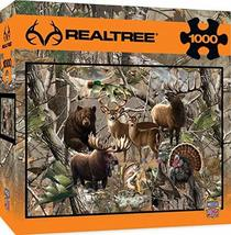 MasterPieces REALTREE Open Season - Wild Game Animals 1000 Piece Jigsaw Puzzle b - $10.71
