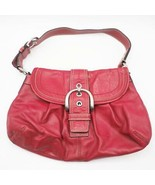Authentic Coach SOHO Red Shoulder Bag F15204 - $44.54