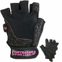 Contraband Pink Label 5127 Womens Weight Lifting Gloves w/Comfort-Soft P... - $18.19