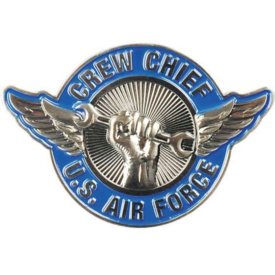 """AIR FORCE CREW CHIEF 2"""" MILITARY  CHALLENGE COIN"""