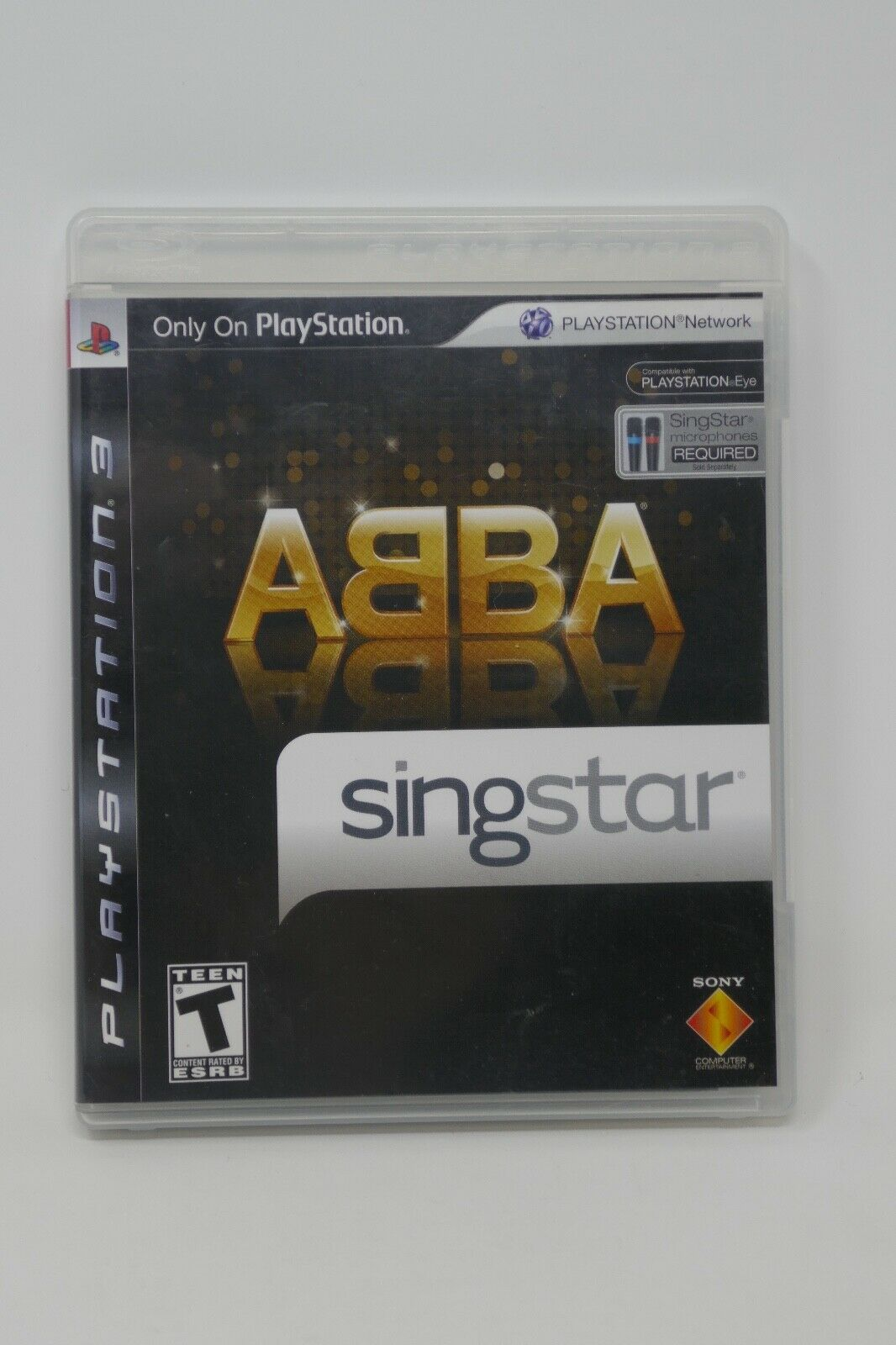 Primary image for SingStar ABBA (Sony PlayStation 3, 2008) COMPLETE