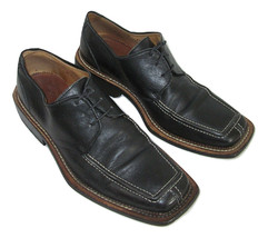 Carlo Botrini Shoes Oxfords Black Leather Mens Size 8 41 Lace Up Dress I... - $32.66