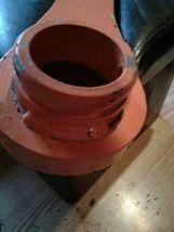 9735190 | Hitachi Ex100/Ex120 Bucket Link L/H (w/ bolt hole), New dirty see pics image 3