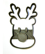 Rudolph Red Nosed Reindeer Sleigh Christmas Cookie Cutter 3D Printed USA PR2032 - $2.99