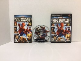 Marvel: Ultimate Alliance (Sony PlayStation 2, 2006) - $9.90