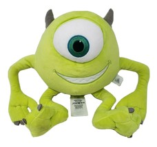 "11"" Disney Store Monsters Inc Mike Wazowski Plush Stuffed Animal Plush Toy Pixar - $36.47"