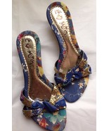 Le Motih Italian Floral Mules / Shoes US Size 8 - $95.00