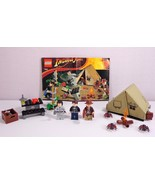 Lego Indiana Jones Set 7624 Jungle Duel Complete with 3 Minifigures - $59.95