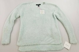 new Ellen Tracy women sweater downtown glam EPMF9ST248 soft peppermint M - $30.42