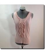 Ann Taylor Pink Sleeveless Petite Top Xs - $18.78