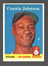 1958 Topps #266 Connie Johnson Orioles Ex  - $4.50