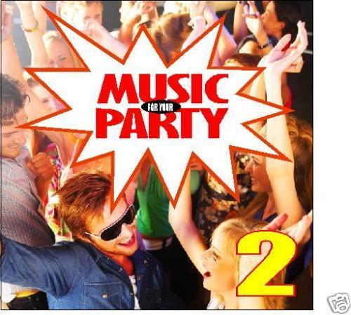 Music For Your Party Vol.2 CD Cupid Shuffle