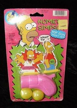 Simpsons Homer Simpson Pop Gun Toy Jaru 1990s New - $17.99
