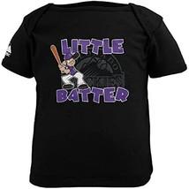 Majestic MLB Colorado Rockies Newborn Little Slugger T-Shirt - Black (3-... - $12.86