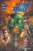 (CB-12} 2008 Virgin Comic Book: Dan Dare #4 { Variant Cover } - $2.00