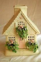 Dept 56 2002 The Springtime Cottage Tea Light House - $62.36