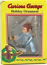 Trevco Curious George Holiday Ornament In His Pajamas Fast Free Shipping - $9.99