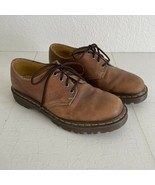 Brown Doc Martens 4 Eye Oxford Shoes Men US10UK9 Leather Lace Up 1561/59 AW004 - £34.26 GBP