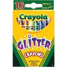 Crayola Glitter Crayons 16ct - $2.93