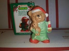 1995 Kwik Fill Traditions Ornament Merry Sweet Dreams Bear Gas Station C... - $3.77