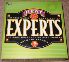 BEAT THE EXPERTS GAME 2002 UNIVERSITY GAMES COMPLETE EXCELLENT CONDITION - $20.00