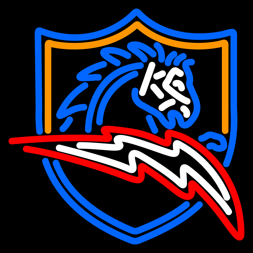 NFL San Diego Chargers Logo Neon Sign