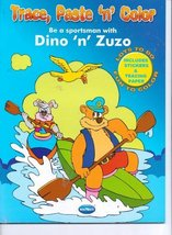 Trace, Paste 'N' Color Be a Sportsman with Dino 'N' Zuzo (Includes Stick... - $3.99