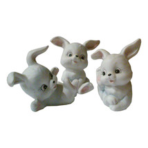 Vintage Lefton Bunny Rabbit Figurines-Set of Three - $15.00