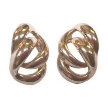 Vintage Napier Chain Link Silver-tone Earrings - $89.99