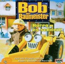 HURRU, ES SCHNEIT ! [Audio CD] BOB DER BAUMEISTER - $5.99