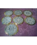 Offer 7 Planetary Seals Pentacles of Sun, glory, riches, Tetragrammaton, Adonai - $80.00
