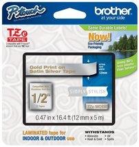 "Brother Genuine P-touch TZE-MQG35 Tape, 1/2"" (0.47"") Wide Standard Lamin... - $21.18"