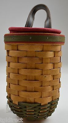 Primary image for Longaberger 2002 Santa's Helper Basket Combo Set With Liner And Protector