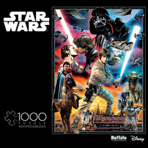 Star Wars The Empire Strikes Back Collage 1000 Piece Jigsaw Puzzle Multi... - $21.98