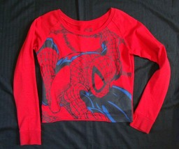 Marvel Comics Spider-Man Red Long Sleeve shirt Top sz M - £3.75 GBP