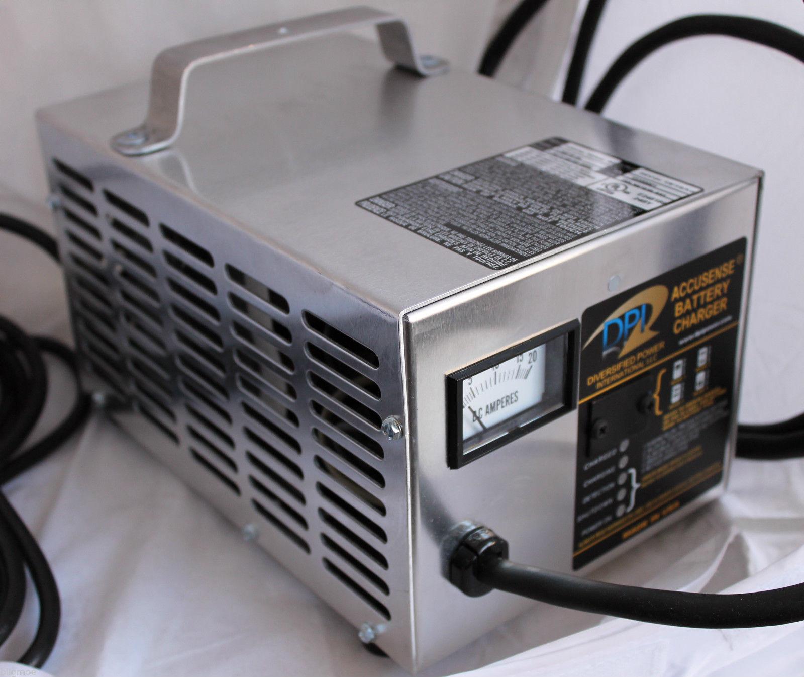 220V-240V DPI 48V 17A Golf Cart Battery Charger with Yamaha Nabson Connector