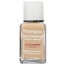 Neutrogena SkinClearing Oil-Free Makeup, Natural Ivory 1 fl oz - €18,11 EUR