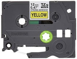 """Brother Genuine P-touch TZE-S631 Tape, 1/2"""" (0.47"""") Wide Extra-Strength ... - $23.79"""
