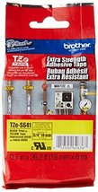 """Brother Genuine P-touch TZE-S641 Tape, 3/4"""" (0.7"""") Wide Extra-Strength A... - $26.20"""
